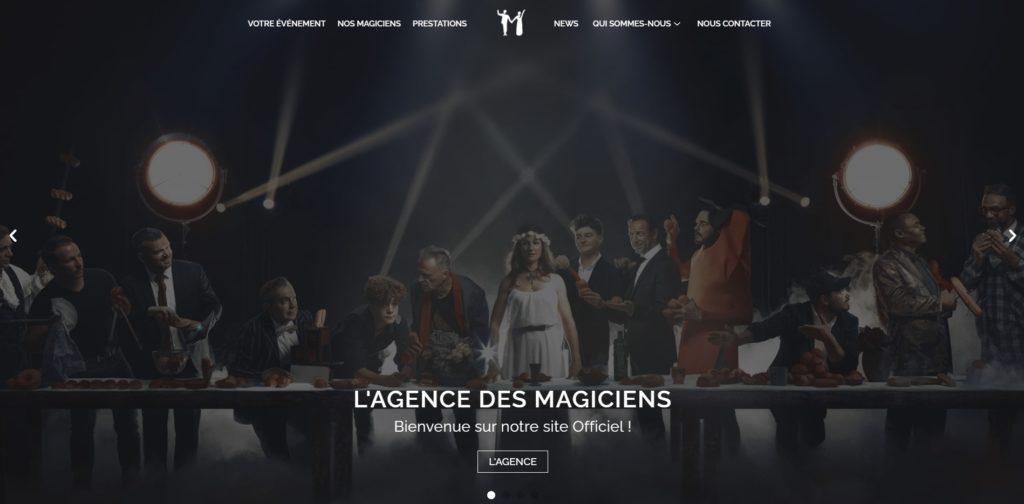 Nouveau Site Internet de l'Agence des Magiciens